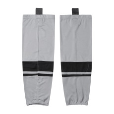 HS400-XW071Grey Blank  hockey  Team socks(Pair)