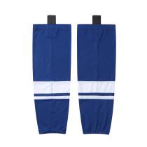 HS400-XW069 Blue Blank  hockey  Team socks(Pair)