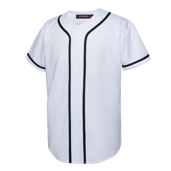 EALER BJ80 Series Mens Baseball Jersey Button Down Shirts Short Sleeve Hipster Hip Hop Sports Uniforms