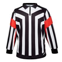 HRJ200 Ice Hockey Long Sleeve Striped Referee/Umpire Jersey Shirt for Men