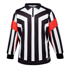 HRJ200 Ice Hockey Long Sleeve Striped Referee/Umpire Jersey Shirt for Men