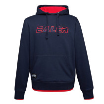 EALER ESH001 Series Men's Power Blend Fleece Hoodie Long Sleeve Hooded Sweatshirt with Kanga Pockets