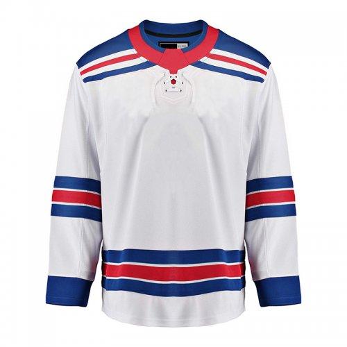 hot sale online 0e2dc 5aebe New York Rangers EALER Blank Hockey Jerseys Away E046