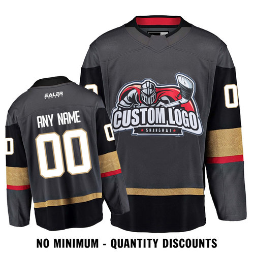 f38e31d80 Custom Your Hockey Jerseys (Any Logo Any Number Any Name) Vagas Golden  Knight Home ECV01
