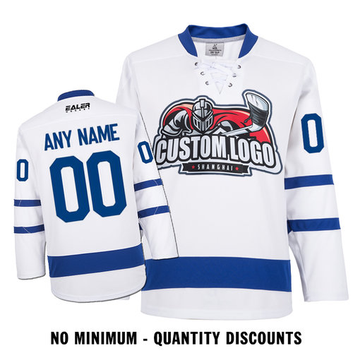reputable site 1623a ea1bd Custom Your Hockey Jerseys (Any Logo Any Number Any Name) Toronto Maple  Leafs White ECT02