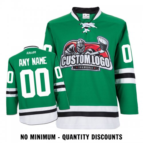 competitive price 552cf d5987 Custom Your Hockey Jerseys (Any Logo Any Number Any Name) Dallas Stars  Green ECD01