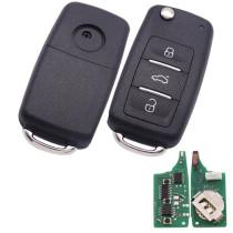VW style 3 button  keyDIY remote NB08-3 Multifunction