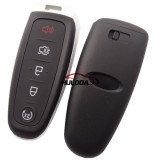For Ford keyless 5 button remote key with PCF7953 AC1500 chip-434mhz ASK model