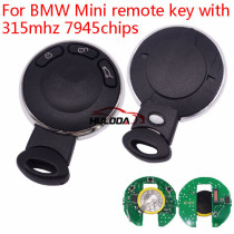 For BMW Mini remote key with 315mhz 7945chips