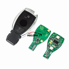 For Benz BE Type Nec and BGA Processor 2 button remote  key with 433MHZ