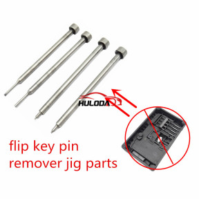 flip key pin remover jig parts used for flip remote key