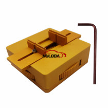 Circuit Board Vise , use this tool to  clamp the Board, so you can repair remote board easily. Golden color