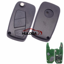 For Fiat Delphi BSI 3 button remote key With PCF7946AT Chip and 433.92Mhz Transponder: ID46 – PCF7946