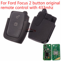 For Ford Focus and mondeo 2 button original remote control with 433mhz