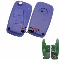 For Fiat Delphi BSI 2 button remote key With PCF7946AT Chip and 433.92Mhz Transponder: ID46 – PCF7946