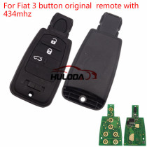 For Fiat 3 button original remote with 434mhz