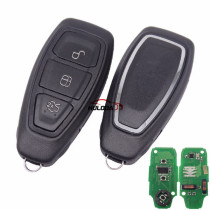After market For Ford foucs keyless 3 button remote key With 433Mhz FCCID: KR55WK48801