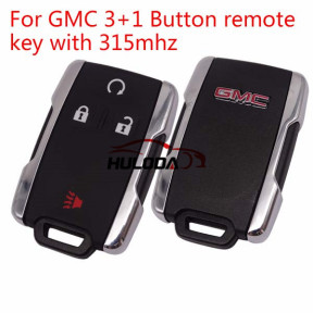 For GMC 3+1 Button original remote key with 315mhz Part No. A2C34526500-03 3400-214675 TD-00 13-48 002 chip: PIC16f689 E/SS