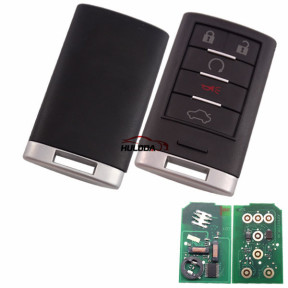 Cadillac CTX keyless 5 button remote key  Smart 46 7952 chip-315mhz