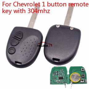 Chevrolet 3 button remote key with 304mhz