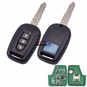 Chevrolet 3 button remote key with 434mhz