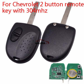 Chevrolet 2 button remote key with 304mhz