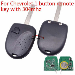 Chevrolet 1 button remote key with 304mhz