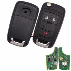 original Chevrolet  2+1 button remote key with 434mhz  5WK50079 95507070 chip GM(HITA G2) NXPF41E30 DS59906 Tnd4192