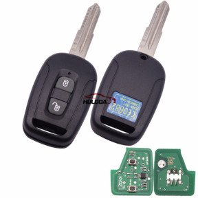Chevrolet 2  button remote key with 434mhz