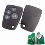 Chevrolet 4 button remote key with 434mhz without logo