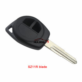 For Suzuki Swift 2 button remote key blank with logo