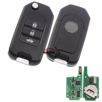 For Honda style 3 button keyDIY remote NB08-3 universal   For KD300,KD900,URG200,mini KD and KD-X2 generate new keys ,For produce any model  remote