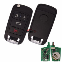 For ChevroletFor Buick style 4 button Multifunction remote key For KD300,KD900,URG200,mini KD and KD-X2 generate new keys ,For produce any model  remote