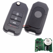For Honda style 3+1 button remote key B10-3+1 for KD300 and KD900 to produce any model  remote