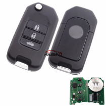 For Honda style 3 button remote key B10-3 for KD300 and KD900 to produce any model  remote