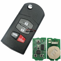 For Mazda style 4 button remote key B14 for KD300,KD900,URG200,mini KD and KD-X2 generate new keys ,For produce any model  remote