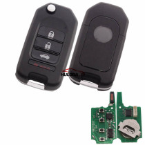 For Honda style 4 buttonkeyDIY remote  NB08-4 universal   For KD300,KD900,URG200,mini KD and KD-X2 generate new keys ,For produce any model  remote