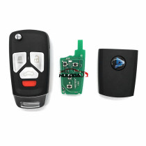 For Audi Style 3 button remote key  B27-3 for KD300,KD900,URG200,mini KD and KD-X2 generate new keys ,For produce any model  remote