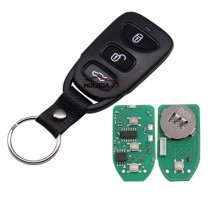 For Hyundai style 3 button remote key B09-3 for KD300,KD900,URG200,mini KD and KD-X2 generate new keys ,For produce any model  remote