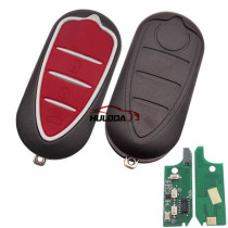 (Delphi BSI System) Alfa ROMEO:Mito 3button remote key with 434mhz & PCF7946AT chip SIP22 blade