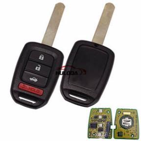 For Honda 3+1 button original remote key with 434MHZ