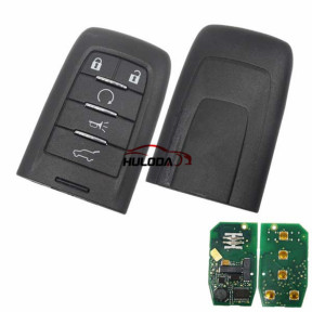 For SAAB original 5 Button remote key with 315mhz with 7952E16 chip
