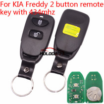 For KIA Freddy 2 button remote key  with 434mhz
