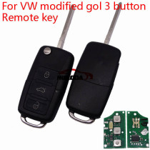 For VW 3 Button remote Key 1K0 959 753 G     with ID48 chip-434mhz