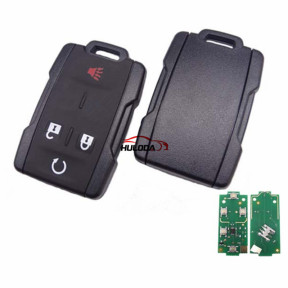 Chevrolet black 4+1 button remote key with 434mhz