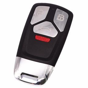 For Audi allroad  3+1 button  B9 Q5 Q7 TT TTS keyless remote key blank