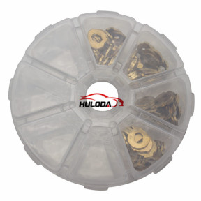 For Ford Mondeo lock wafer it contains 1,2,3,4, each part has 20pcs
