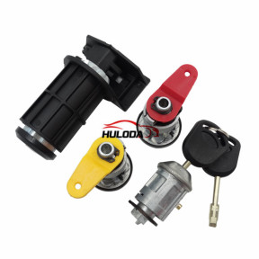 For Ford  carnival full set lock with left door lock, right door lock,igntion lock and trunk lock