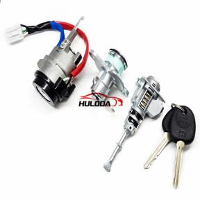 For Hyundai elantra  full set lock (includes igntion lock,door lock and trunk lock)