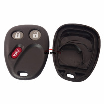 For GM 2+1 button remote key cover with battery place